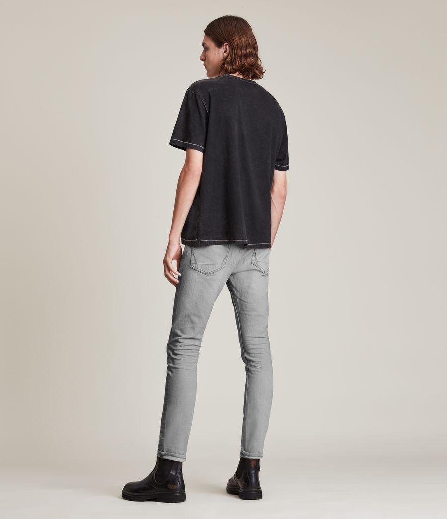 Hombre Jeans Cigarette Skinny (grey) - Image 4