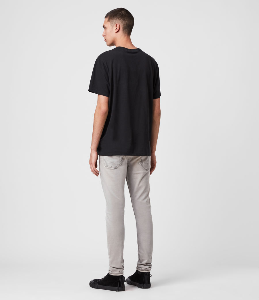 Hombre Jeans Cigarette Skinny (grey) - Image 5