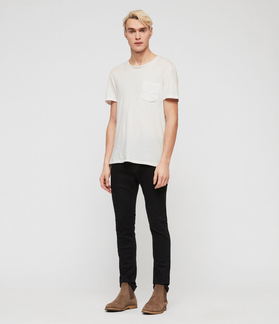 Herren Cole Cigarette Skinny Jeans (washed_black) - Image 4
