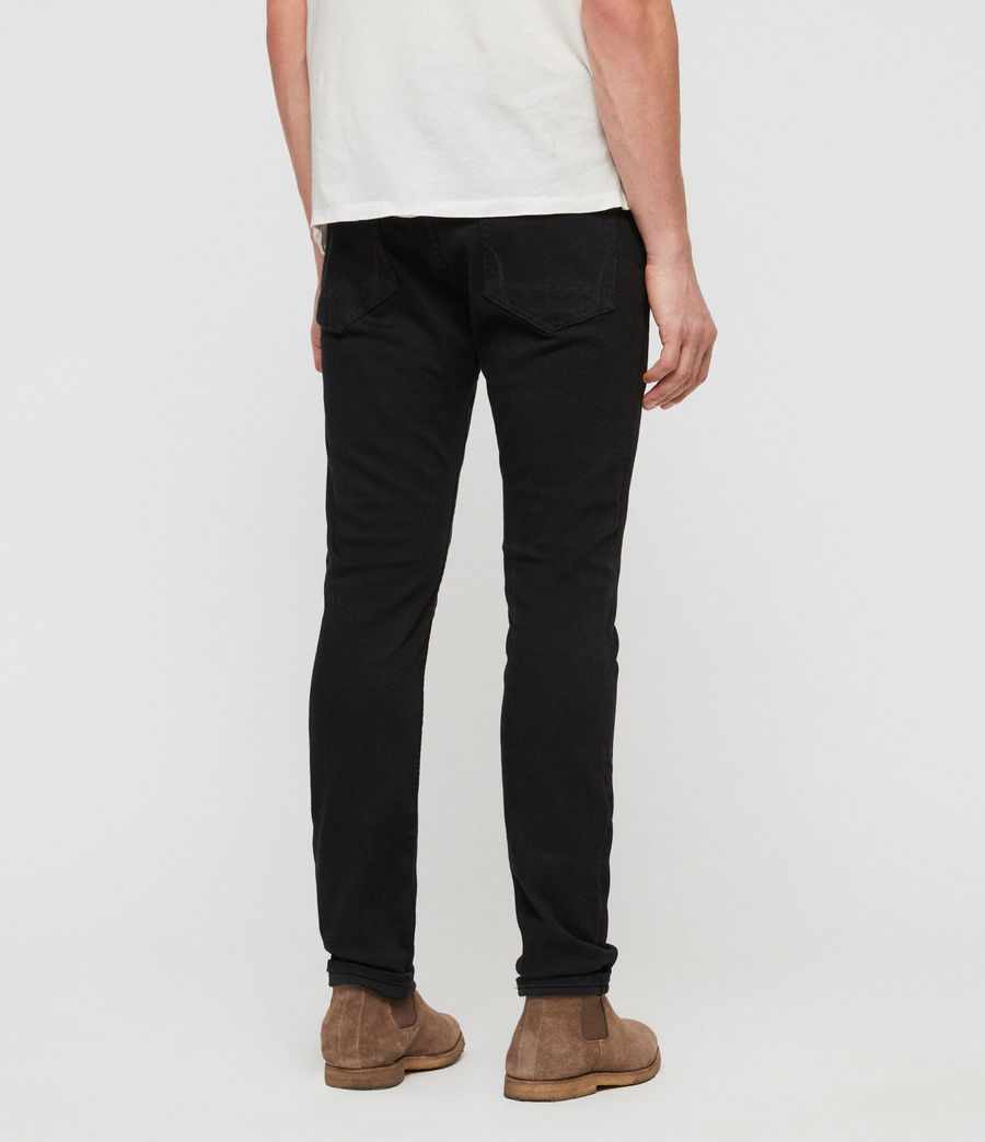Herren Cole Cigarette Skinny Jeans (washed_black) - Image 6