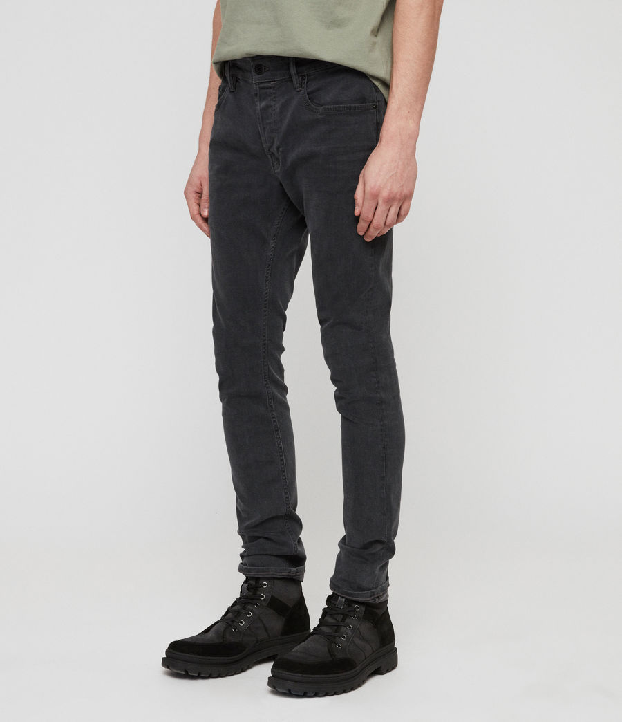 Men's Cole Extra Skinny Jeans (grey) - Image 2