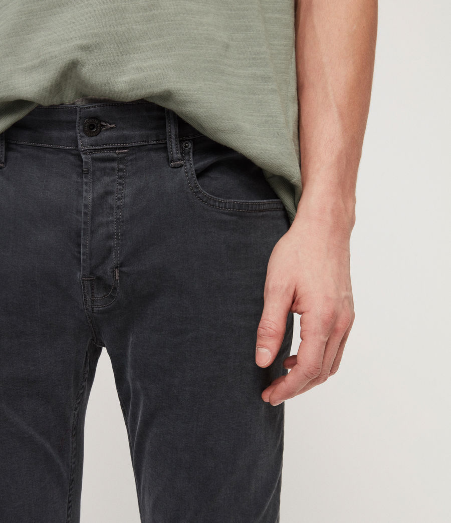 Herren Cole Extra Skinny Jeans (grey) - Image 4
