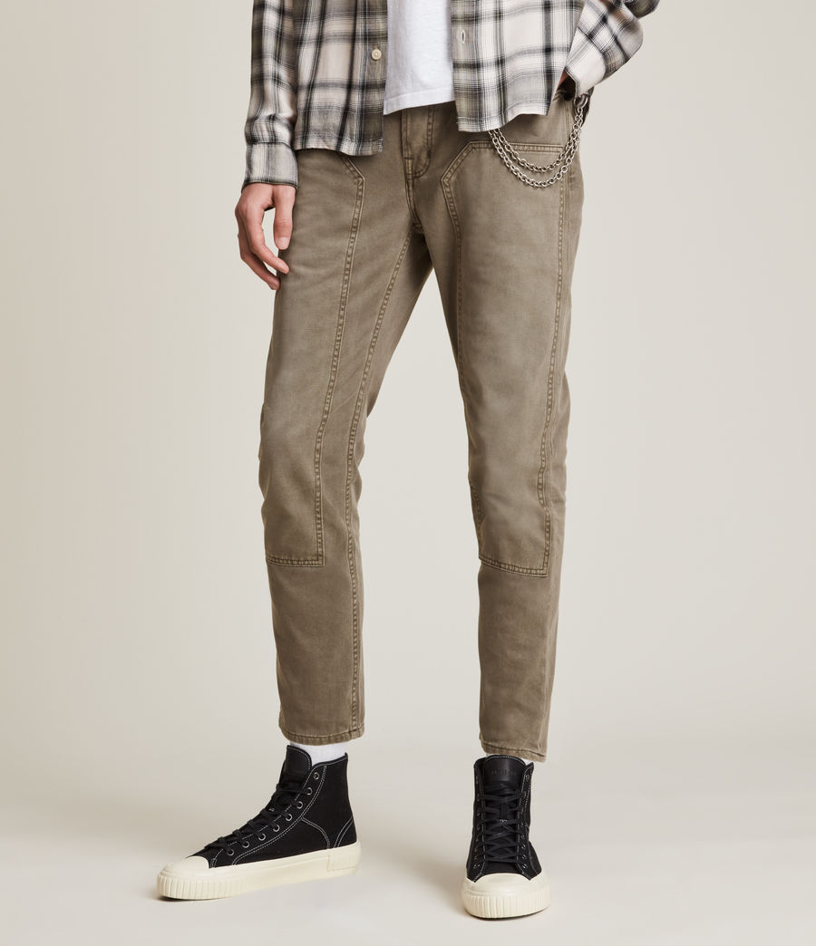 Herren Jack Carpenter Straight Jeans, Woodland Brown (woodland_brown) - Image 1
