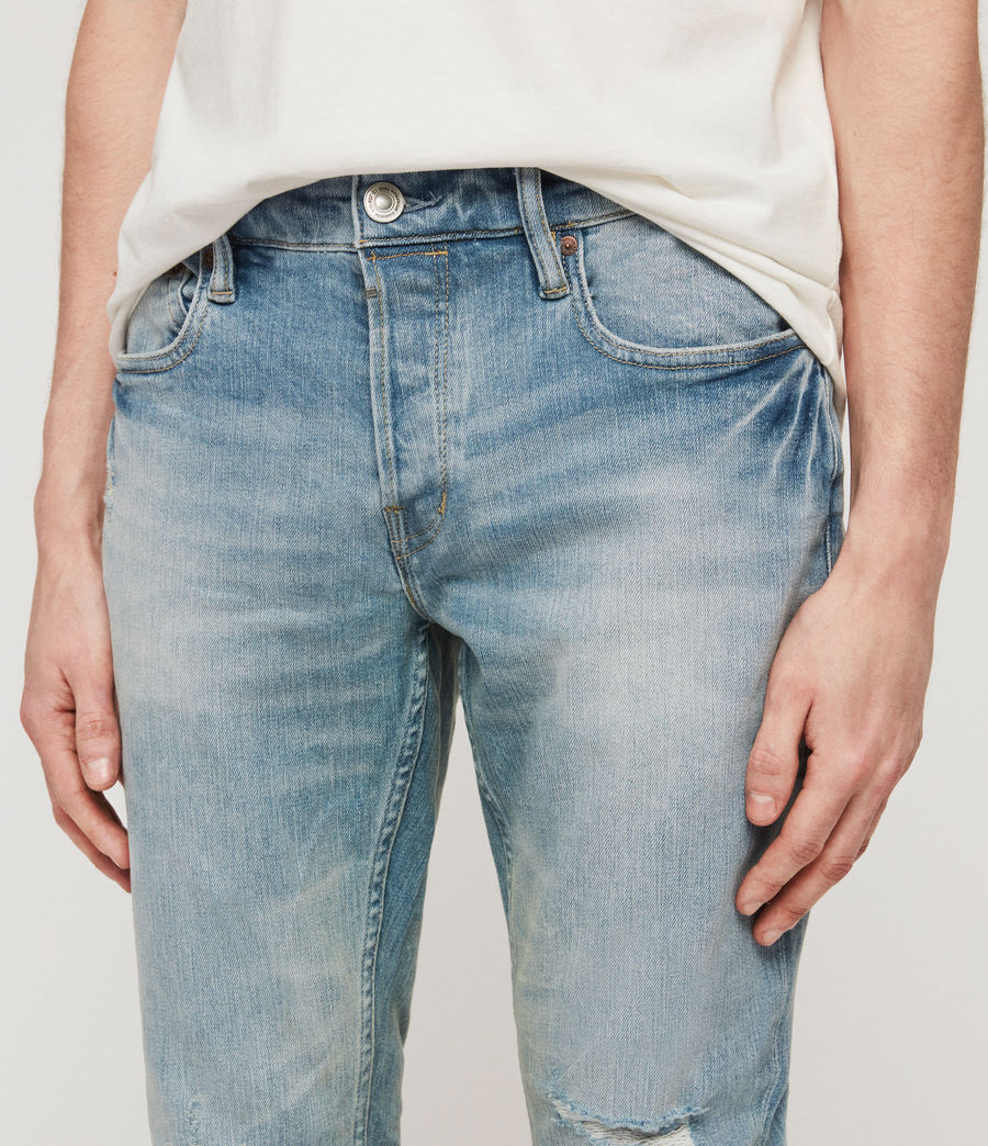Hombre Jeans Rex Damaged (light_indigo_blue) - Image 4