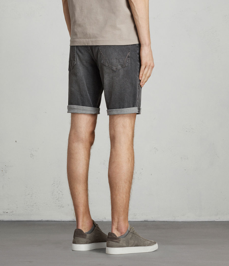 Herren Genesee Switch Jeans-Shorts (grey) - Image 4