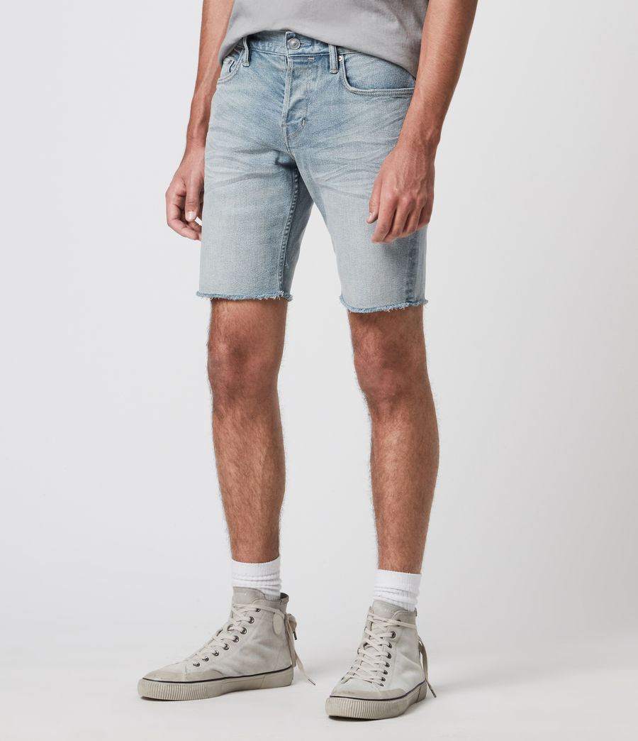 Mens Switch Denim Shorts (light_indigo) - Image 2