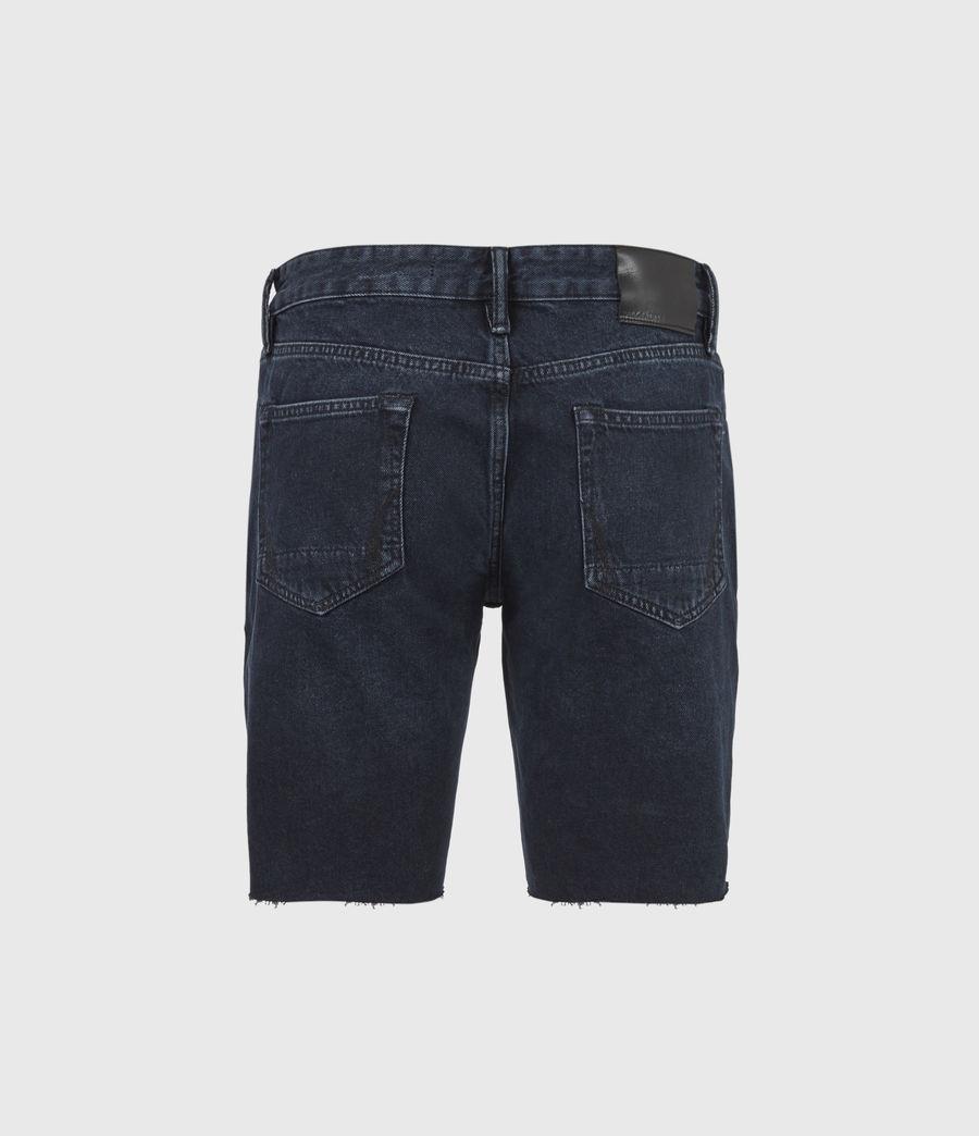 Men's Switch Denim Shorts (blue_black) - Image 3