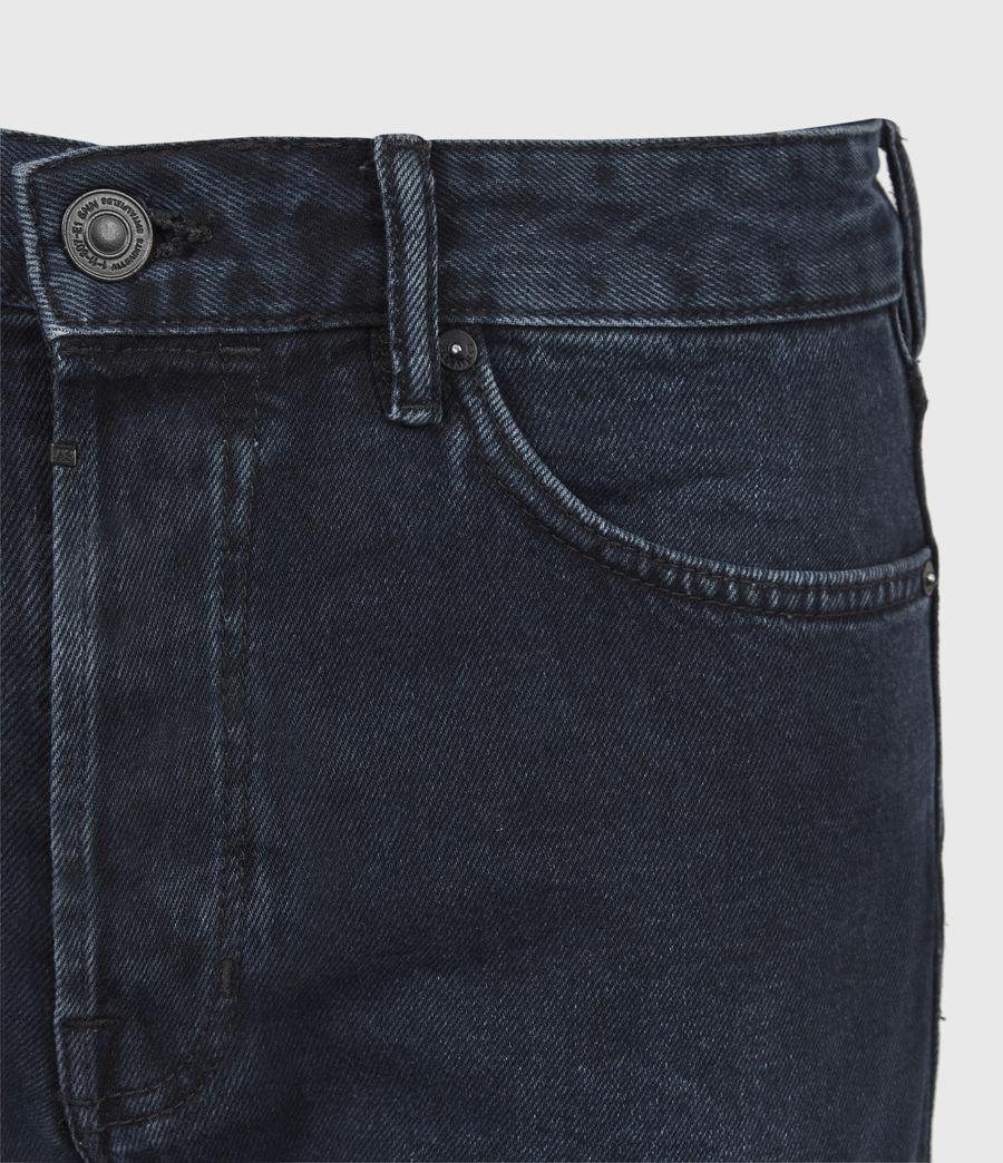Men's Switch Denim Shorts (blue_black) - Image 5