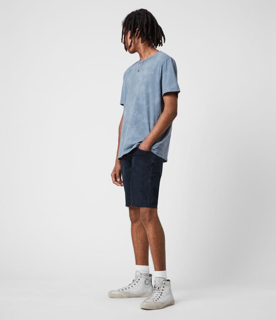 Men's Switch Denim Shorts (blue_black) - Image 6