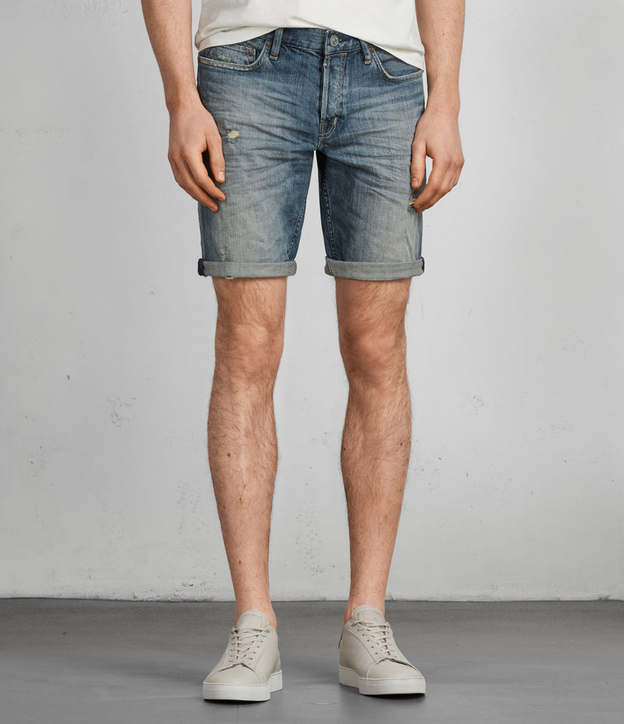 Men's Iowa Switch Slim Shorts (indigo) - Image 1