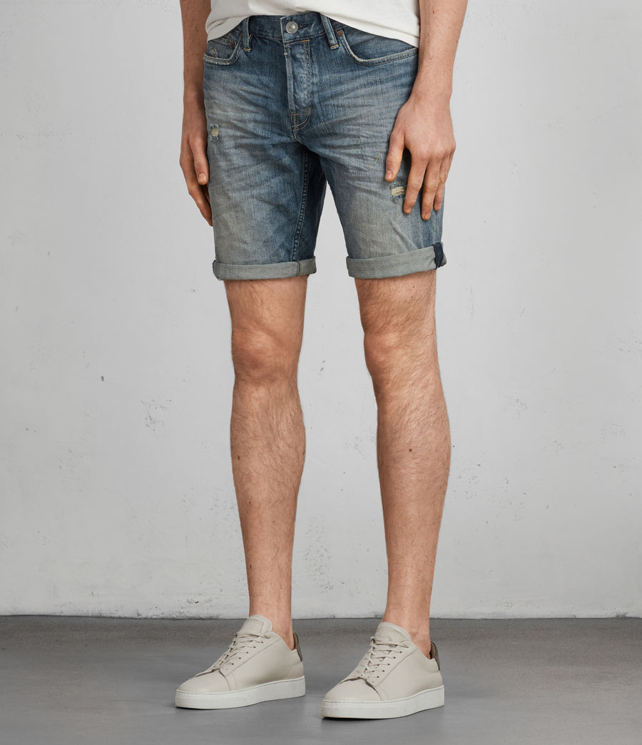 Men's Iowa Switch Slim Shorts (indigo) - Image 3