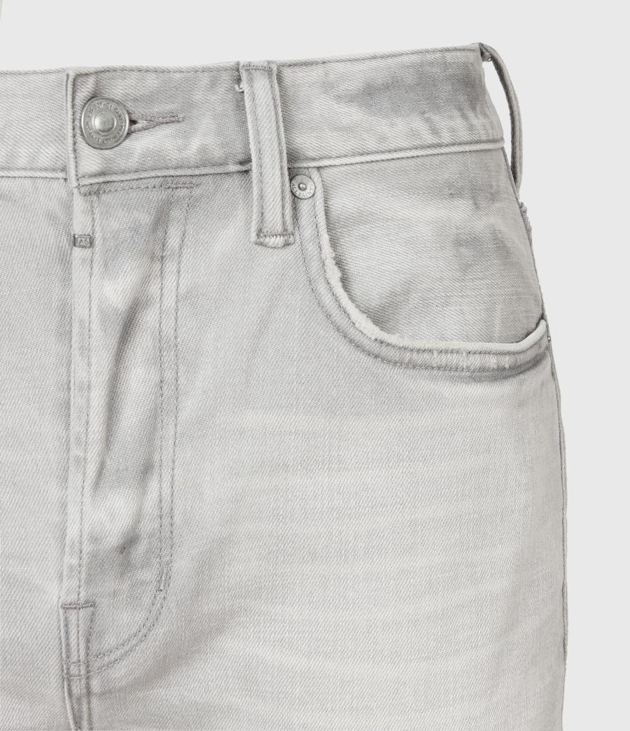 Men's Cigarette Skinny Jeans, Grey (grey) - Image 3
