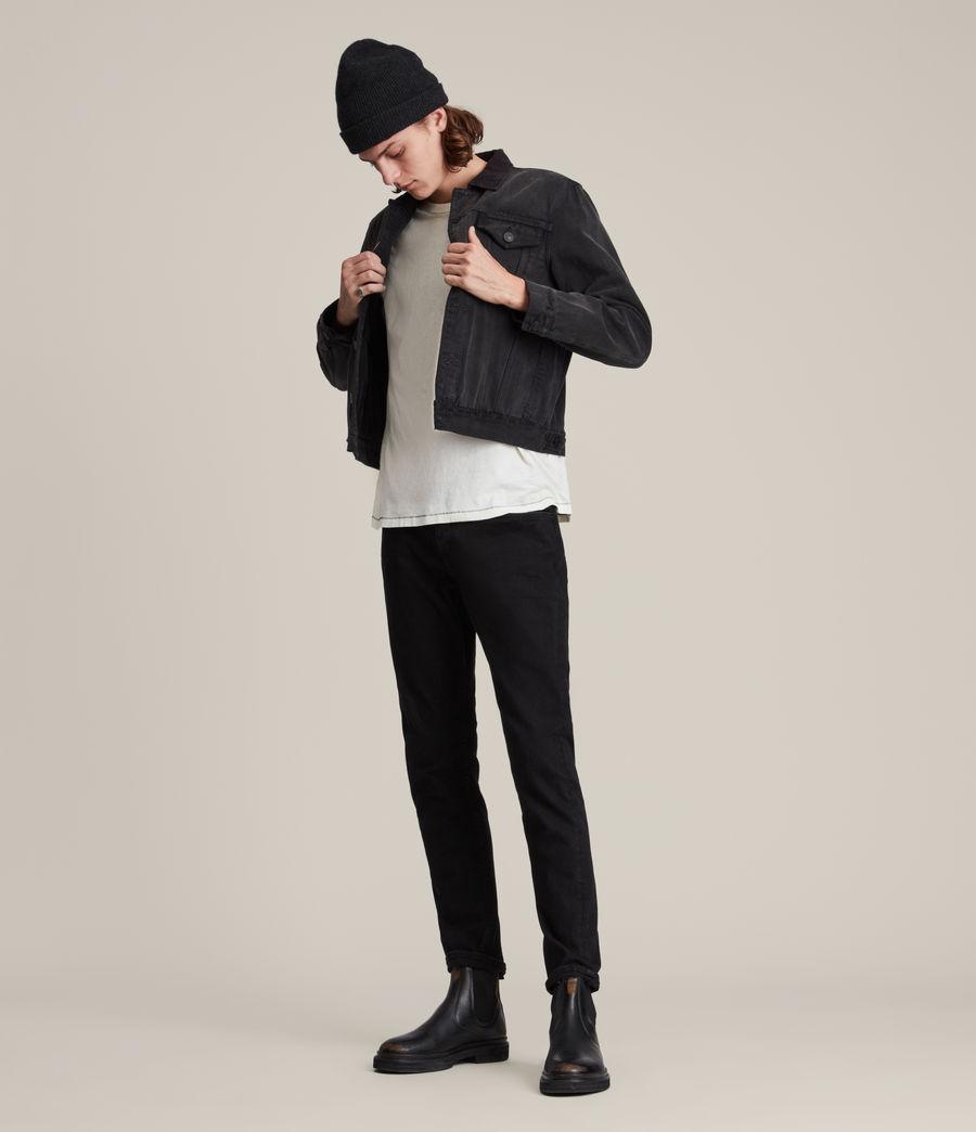 Hombre Jeans Slim Fit Rex, Negro azabache (jet_black) - Image 4