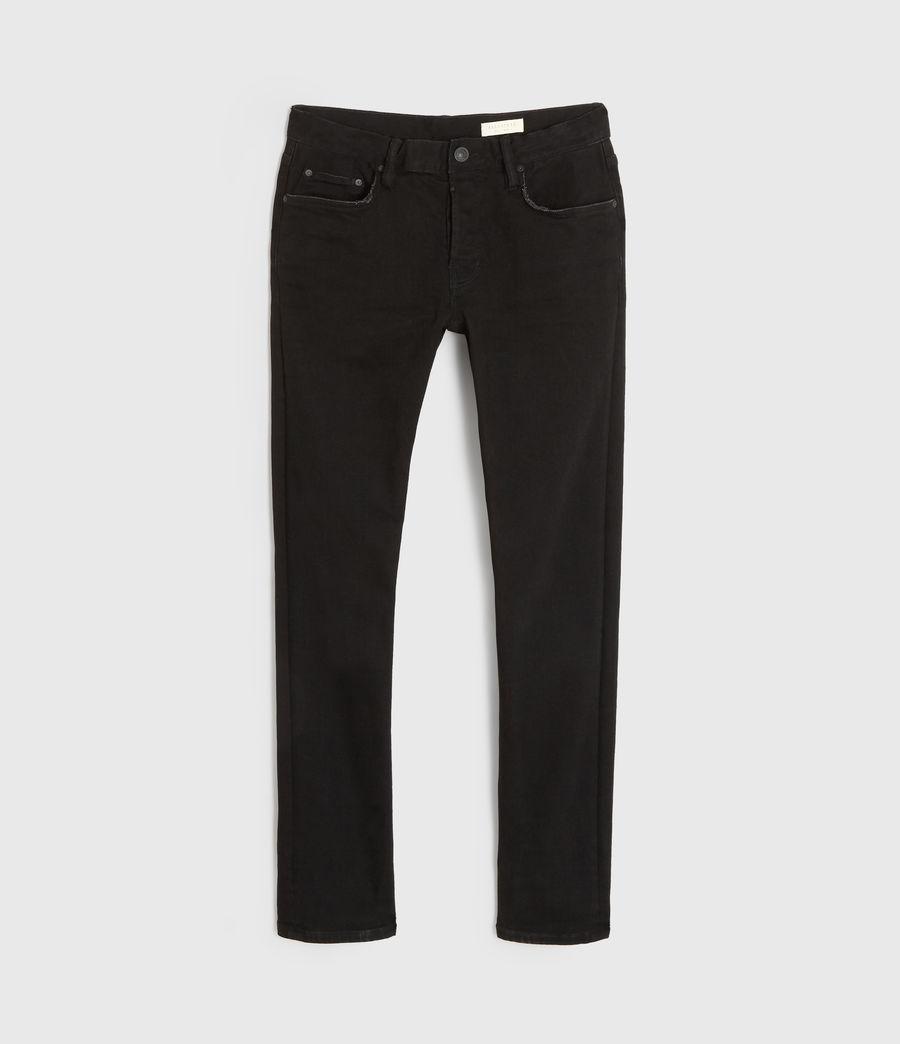 Herren Rex Slim Jeans, Schwarz (jet_black) - Image 7