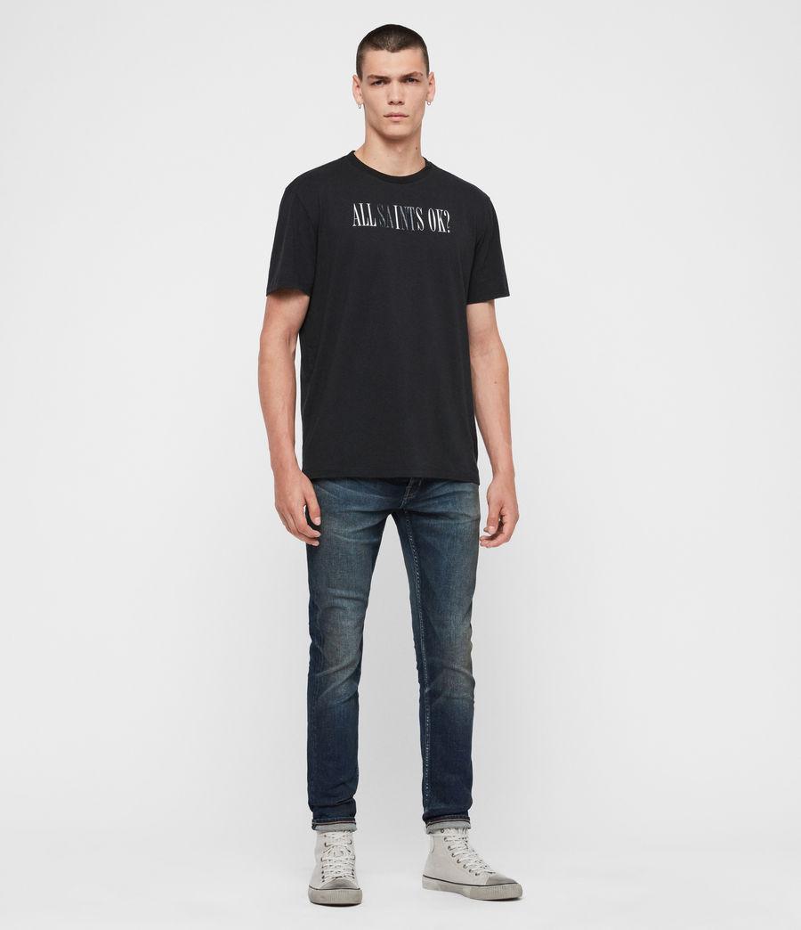 Uomo Jeans Rex Slim, Blu Indaco Medio (mid_indigo) - Image 3