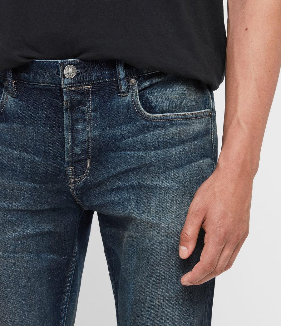 Uomo Jeans Rex Slim, Blu Indaco Medio (mid_indigo) - Image 4