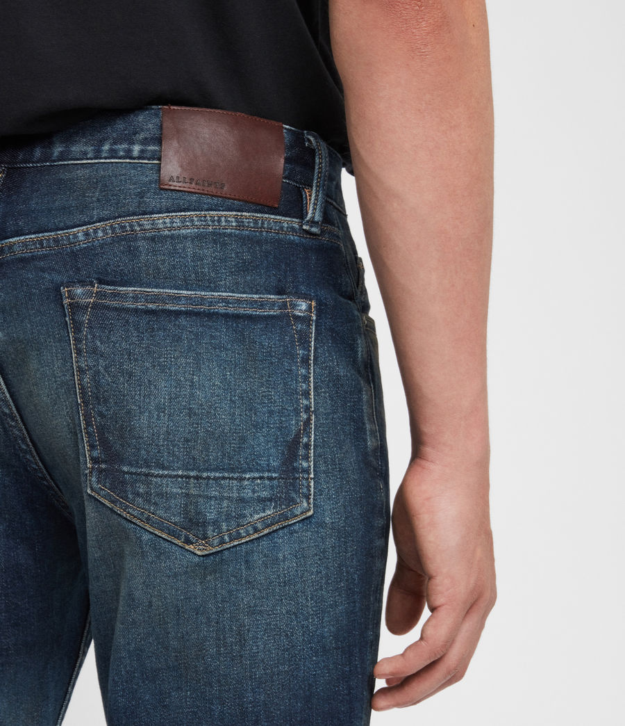 Hombre Jeans Rex Slim, Índigo medio (mid_indigo) - Image 5