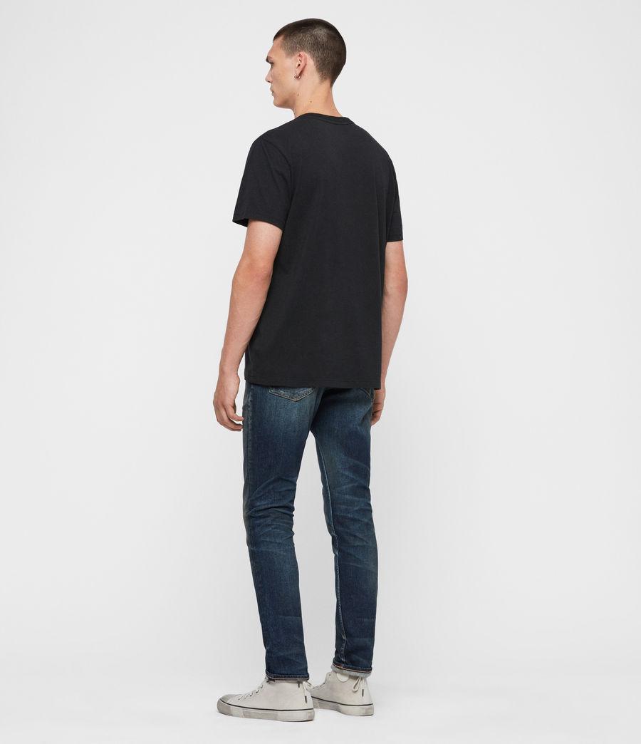 Uomo Jeans Rex Slim, Blu Indaco Medio (mid_indigo) - Image 6