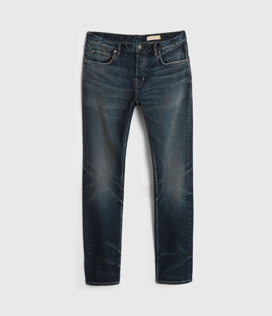 Uomo Jeans Rex Slim, Blu Indaco Medio (mid_indigo) - Image 7
