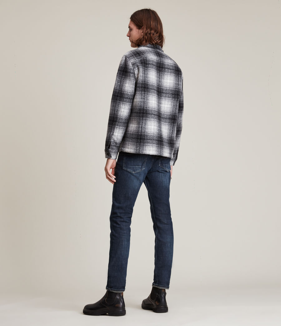 Hombres Rex Straight Skinny Jeans (indigo) - Image 4