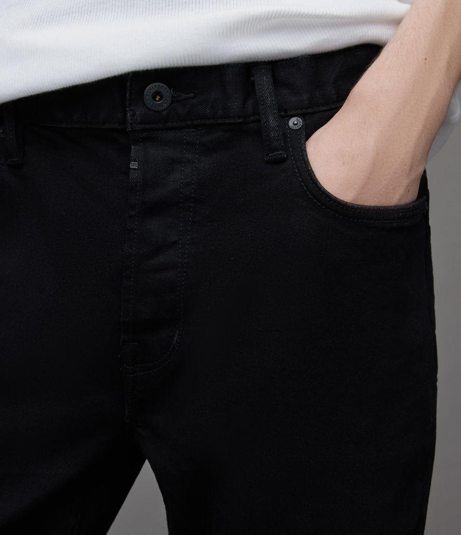Herren Dean Cropped Slim Jeans, Jet Black (jet_black) - Image 3