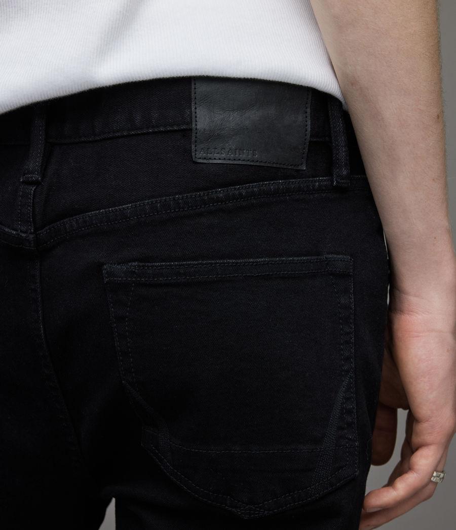 Herren Dean Cropped Slim Jeans, Jet Black (jet_black) - Image 4