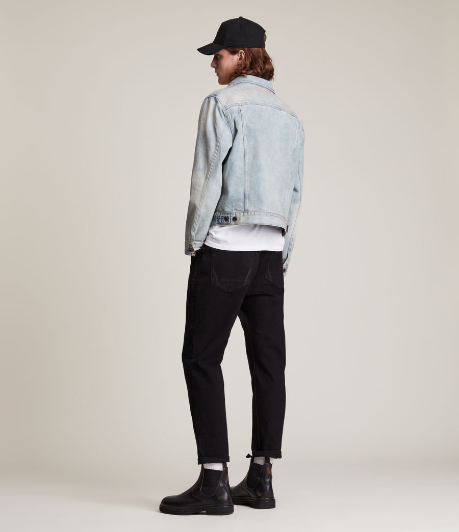Hommes Jack Straight Jeans, Jet Black (jet_black) - Image 5