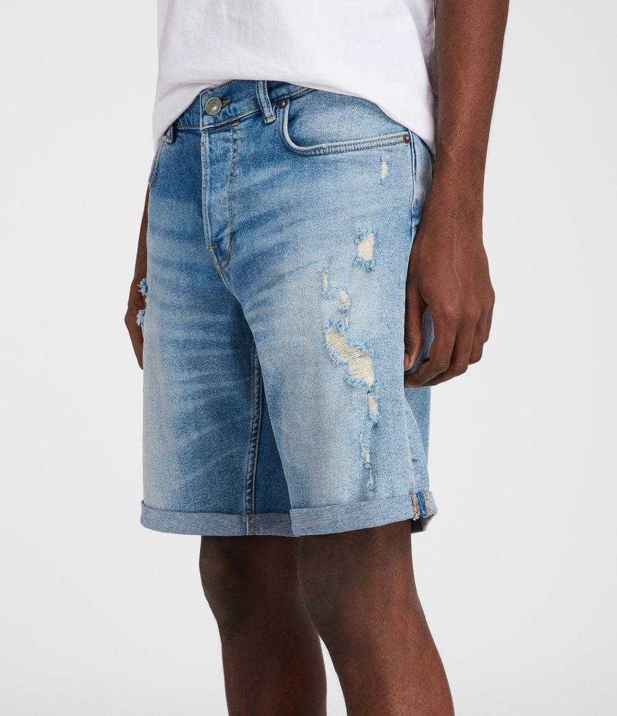 Mens Isher Shorts (indigo) - Image 2