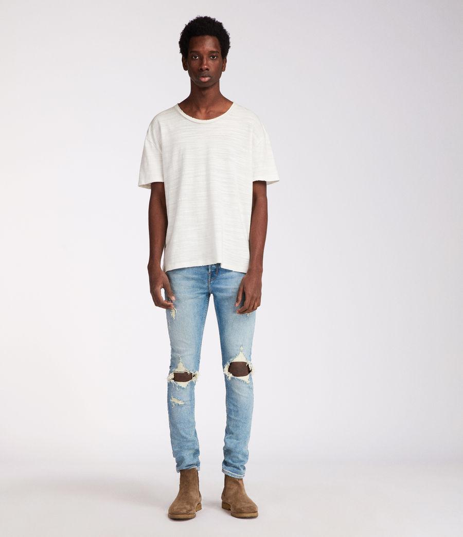 Men's Ichnaw Cigarette Skinny Jeans (indigo) - Image 3