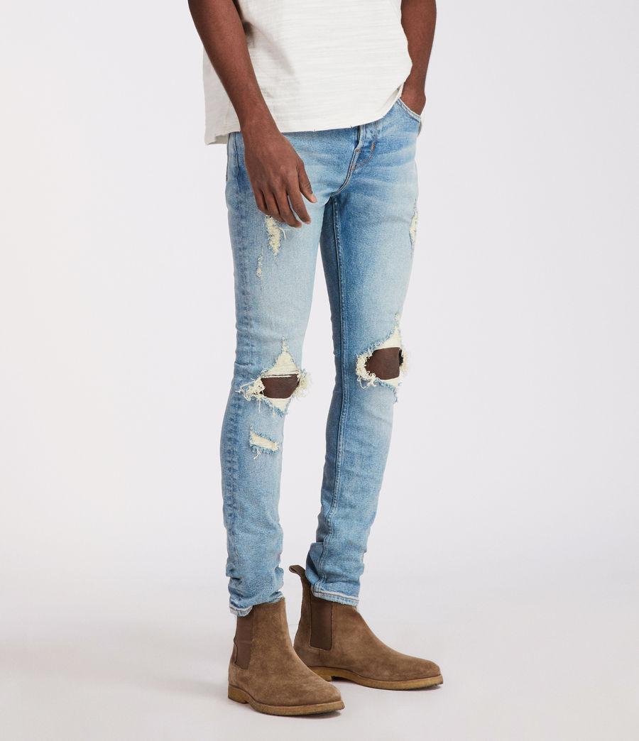 Men's Ichnaw Cigarette Skinny Jeans (indigo) - Image 4