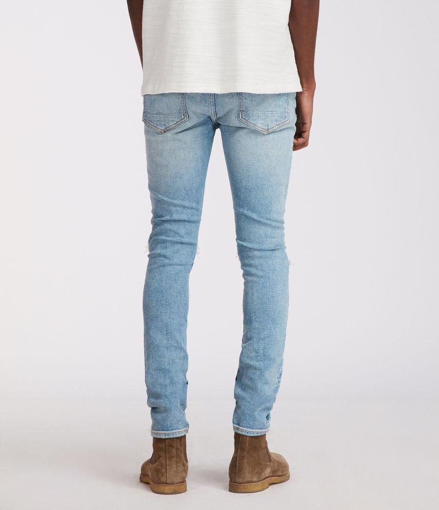 Men's Ichnaw Cigarette Skinny Jeans (indigo) - Image 5