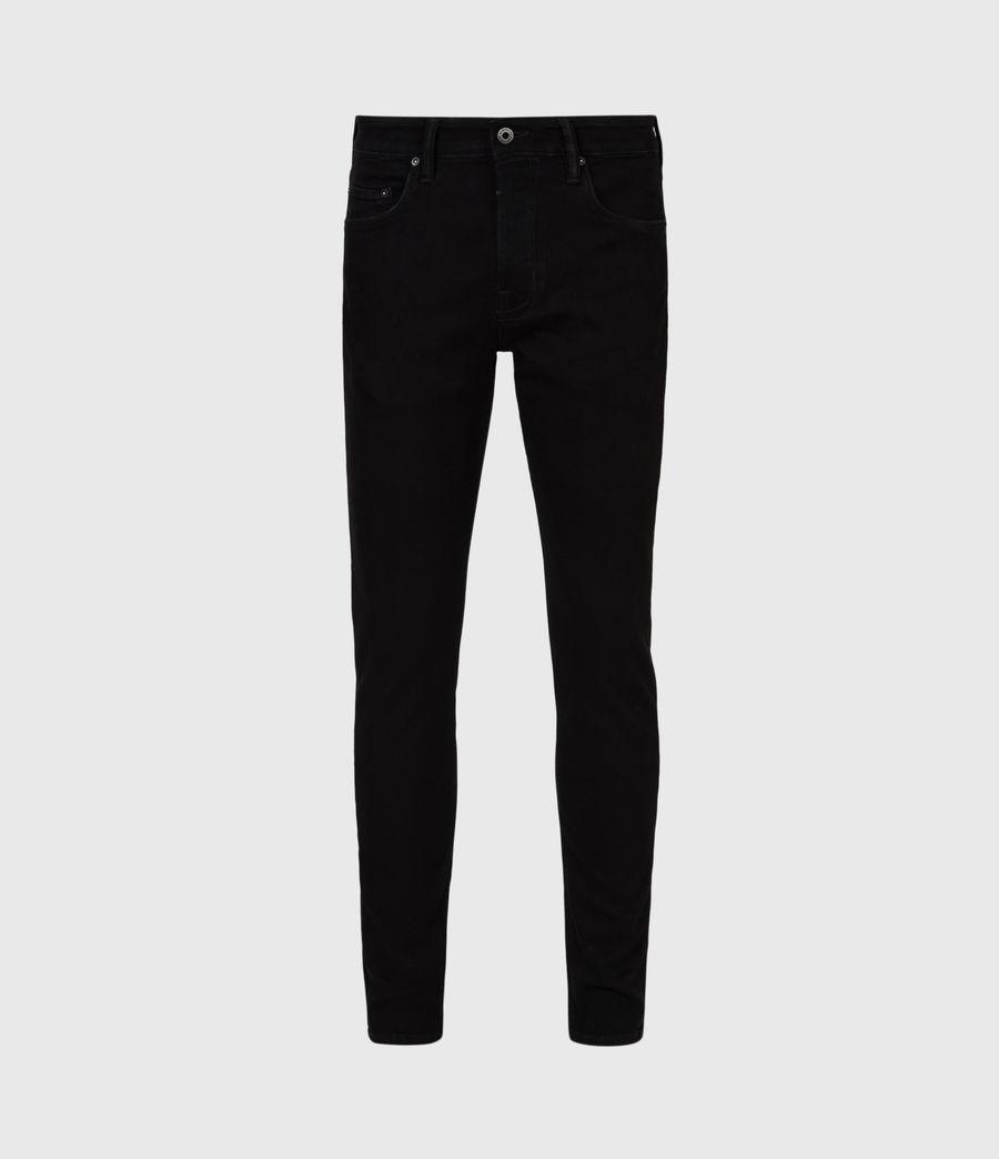 Herren Ronnie Extra Skinny Jeans, Pechschwarz (jet_black) - Image 2