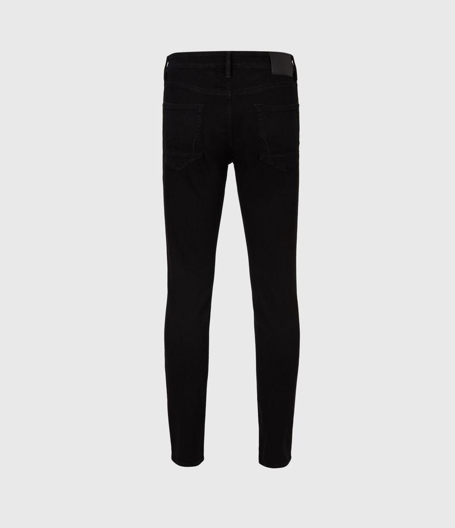 Herren Ronnie Extra Skinny Jeans, Pechschwarz (jet_black) - Image 3