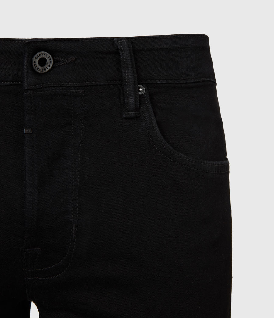 Herren Ronnie Extra Skinny Jeans, Pechschwarz (jet_black) - Image 5