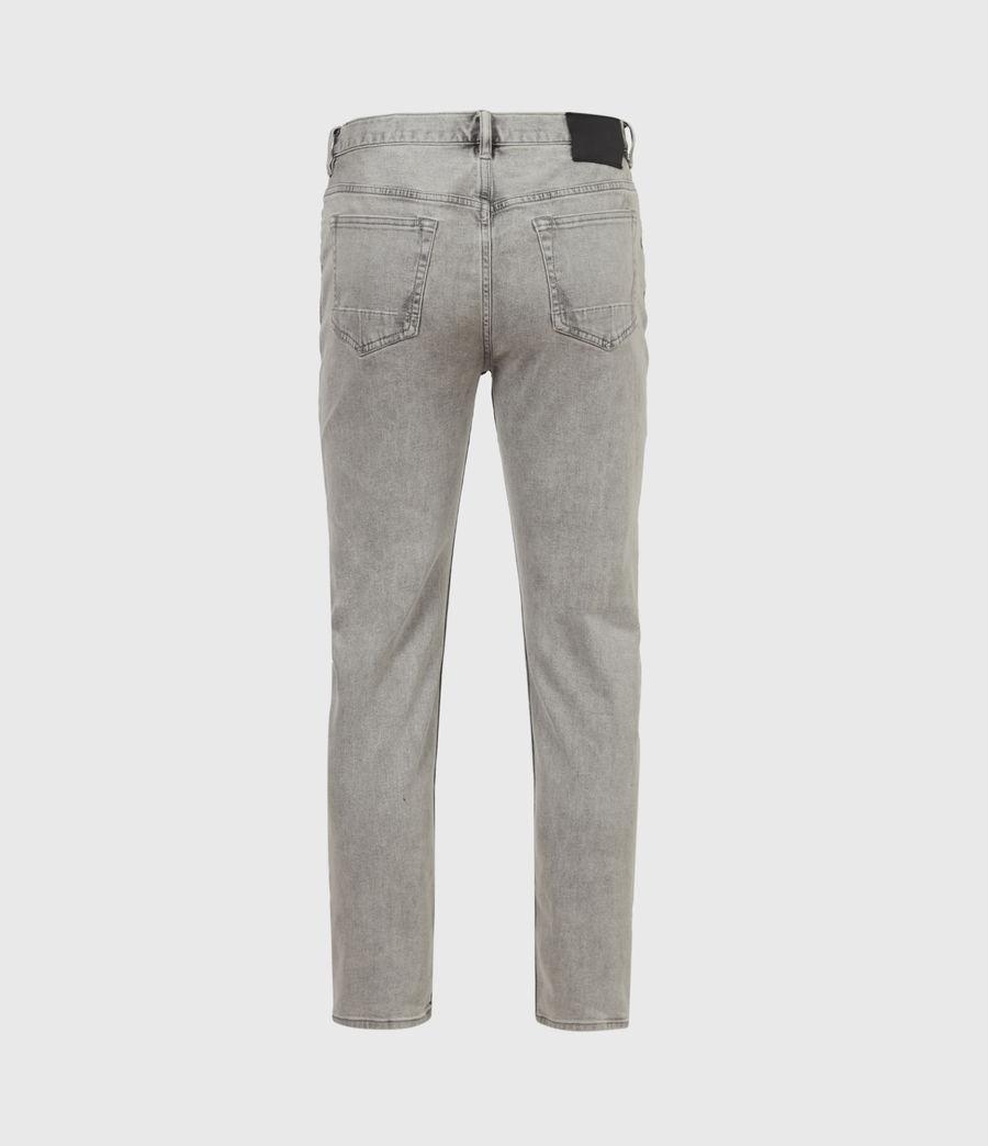Herren Dean Cropped Slim Jeans, Grey (grey) - Image 3