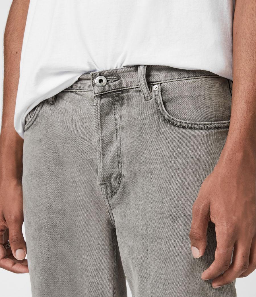Herren Dean Cropped Slim Jeans, Grey (grey) - Image 5
