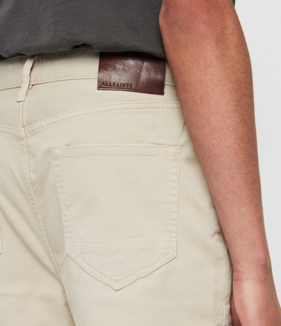 Men's Ridge Twill Tapered Jeans, Barley Taupe (barley_taupe) - Image 5