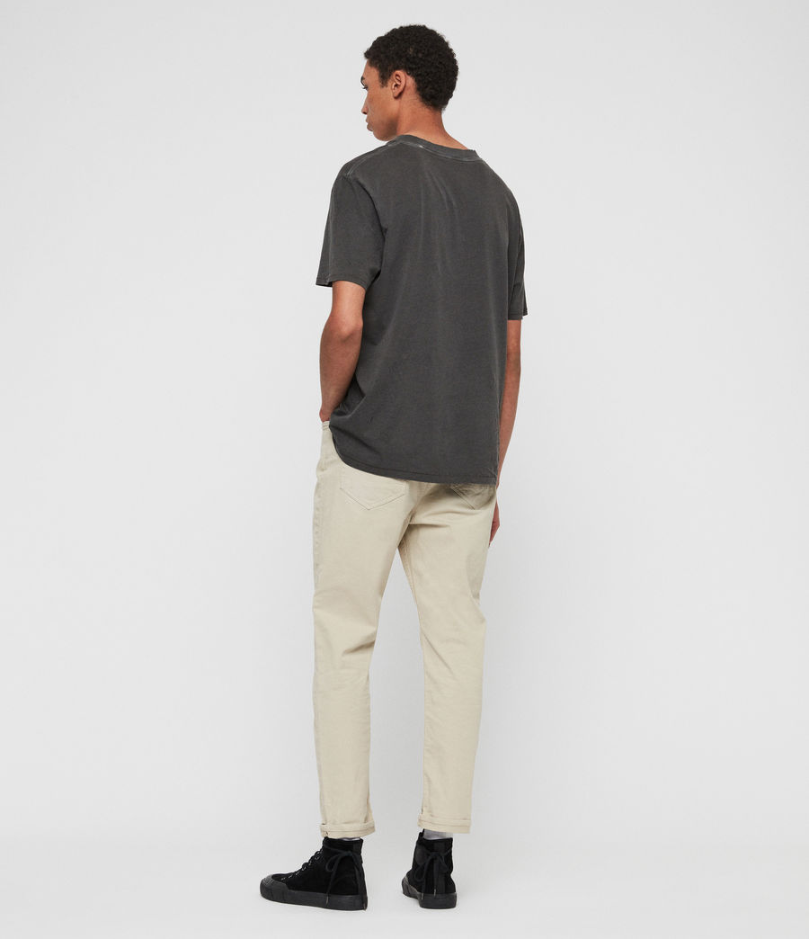 Men's Ridge Twill Tapered Jeans, Barley Taupe (barley_taupe) - Image 6