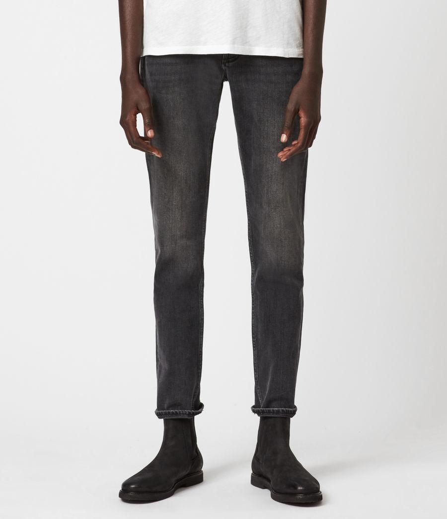 Men's Rex Slim Jeans, Dark Grey (dark_grey) - Image 1