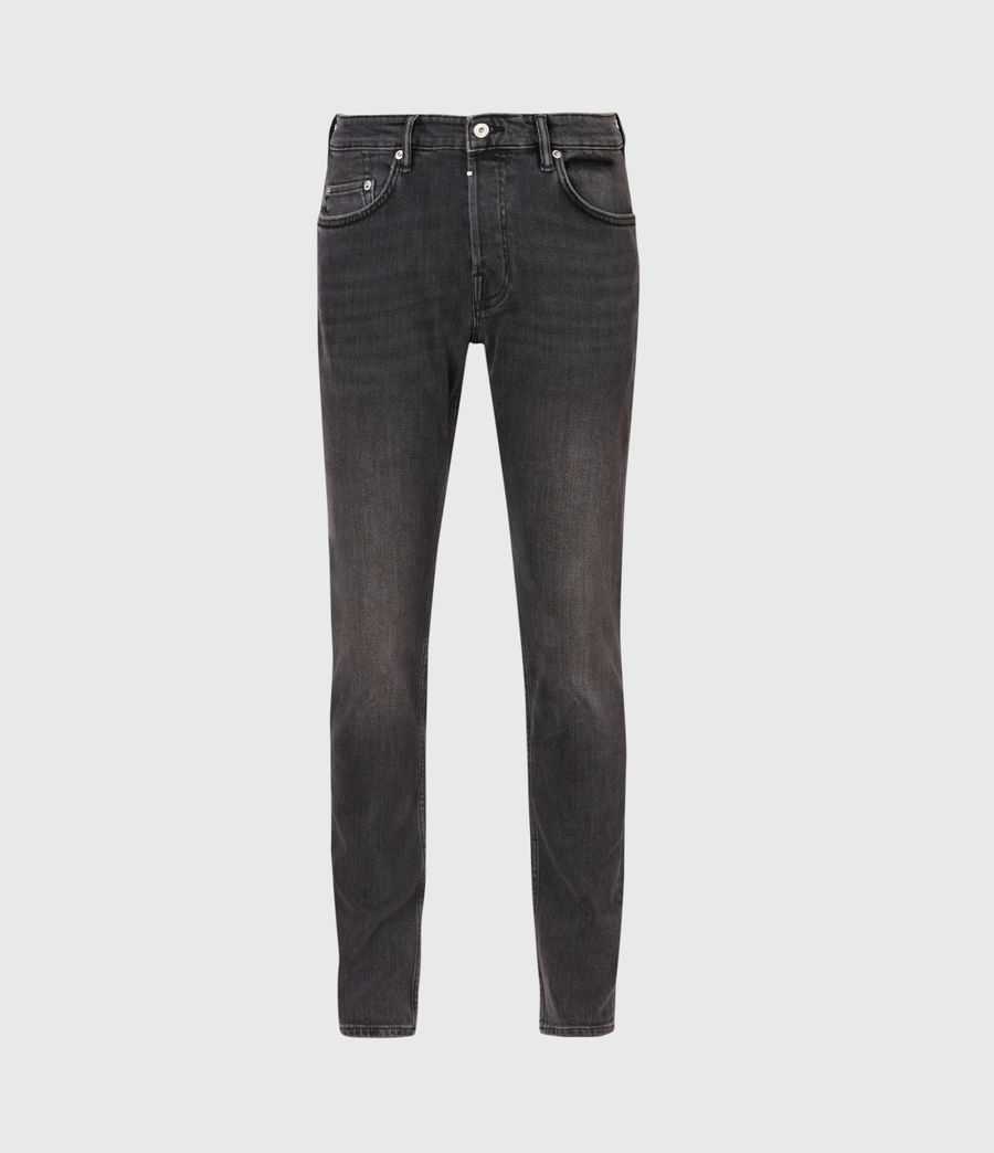 Men's Rex Slim Jeans, Dark Grey (dark_grey) - Image 2