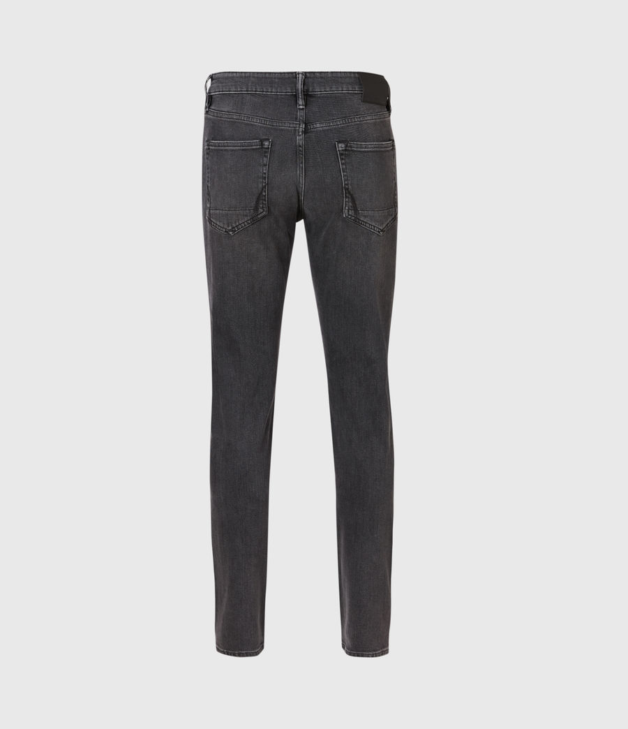Men's Rex Slim Jeans, Dark Grey (dark_grey) - Image 3
