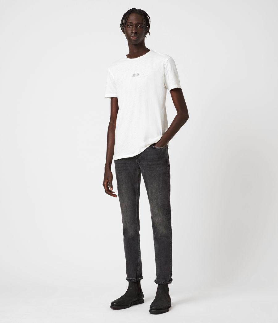 Men's Rex Slim Jeans, Dark Grey (dark_grey) - Image 4