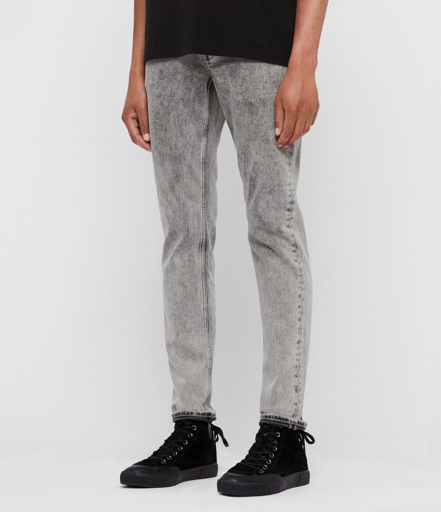 Men's Rex Slim Jeans, Grey (grey) - Image 4