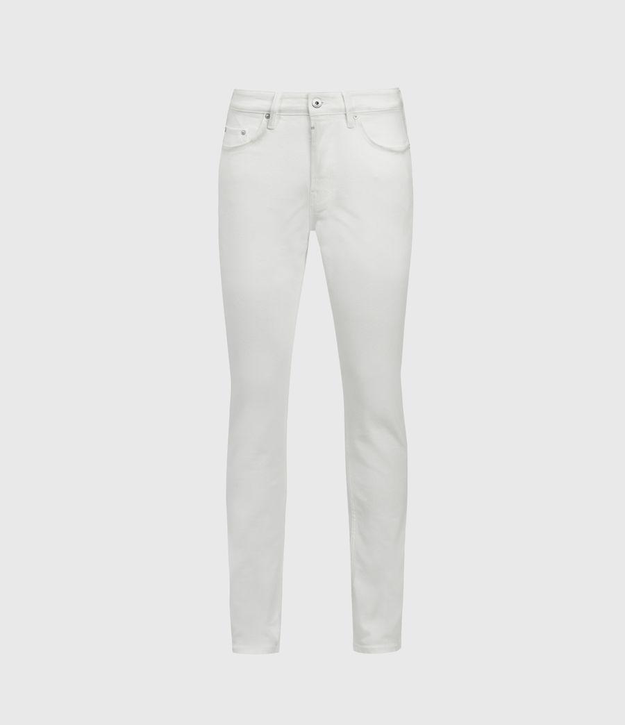 Mens Rex Slim Jeans, White (white) - Image 1