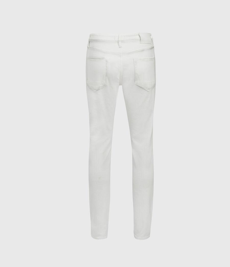 Men's Rex Slim Jeans, White (white) - Image 2