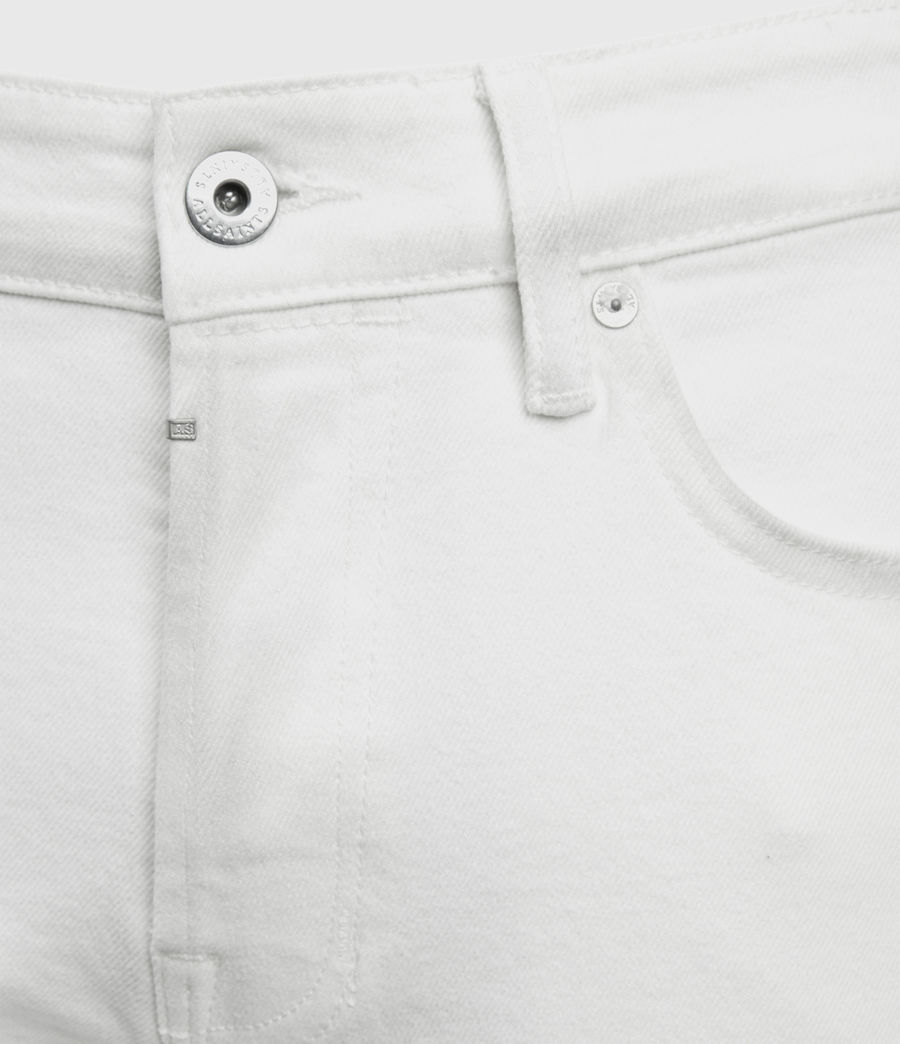Men's Rex Slim Jeans, White (white) - Image 3
