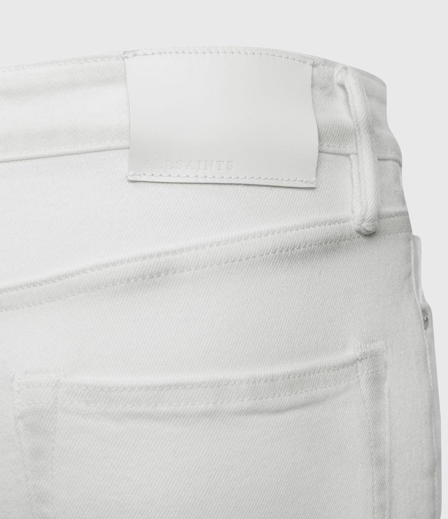 Mens Rex Slim Jeans, White (white) - Image 4