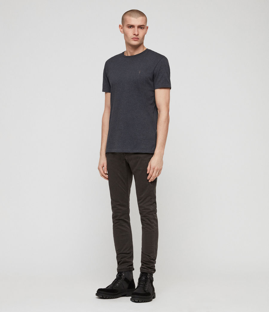 Mens Rex Twill Skinny Jeans (pewter) - Image 3