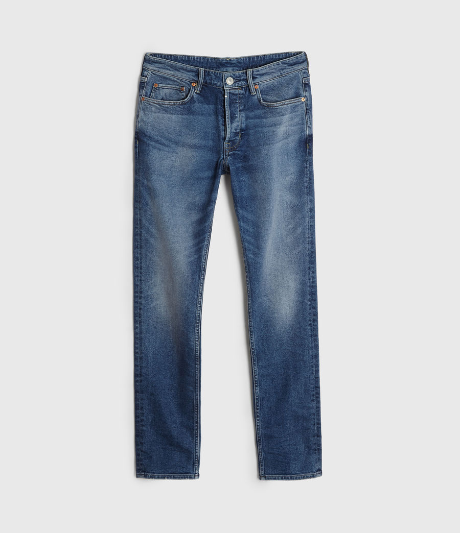 Men's Rex Slim Jeans, Light Indigo Blue (light_indigo_blue) - Image 7