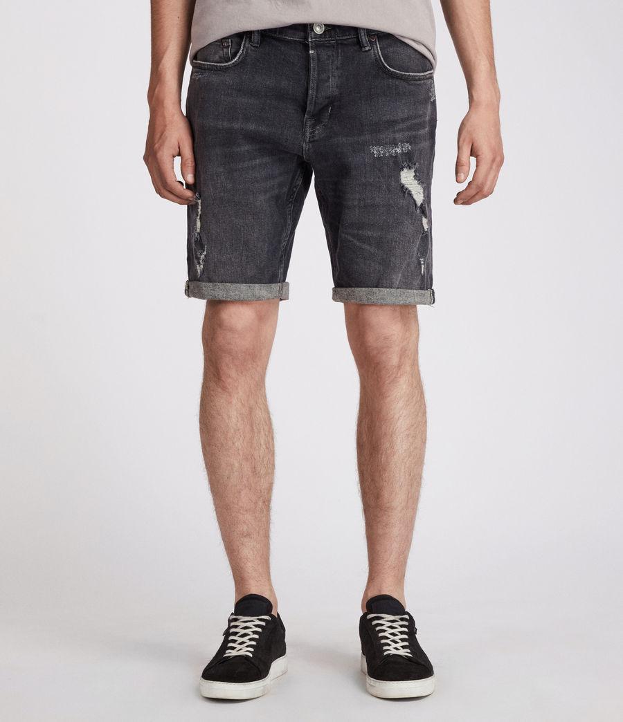 Men's Barge Shorts (washed_black) - Image 1
